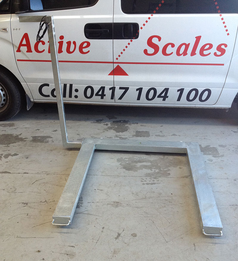 U Shaped Scale for Pallet Trucks